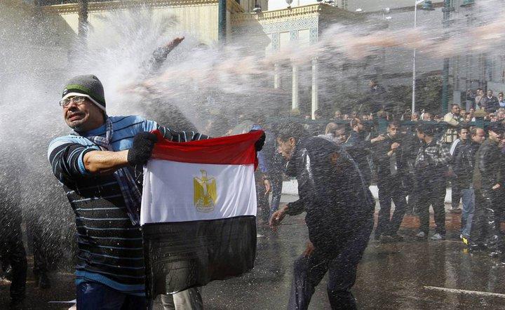 العلم المصري والخراطيم
