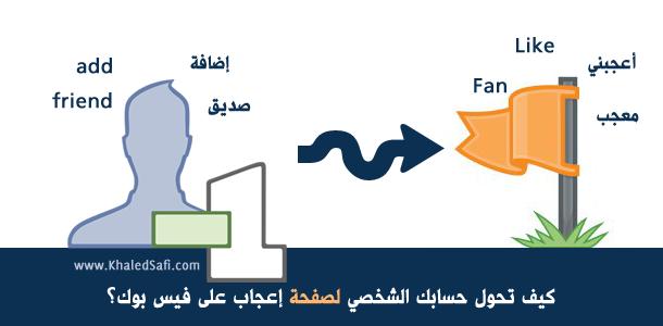 Photo of كيف تحول حسابك الشخصي لصفحة إعجاب على فيسبوك؟