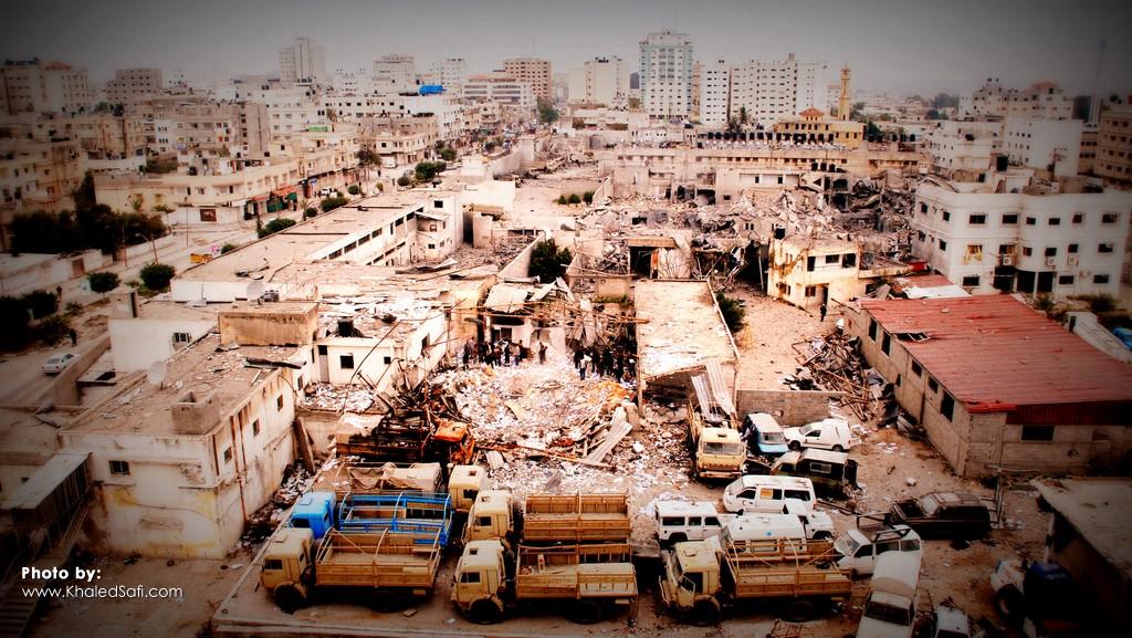 خسائر الحرب على غزة