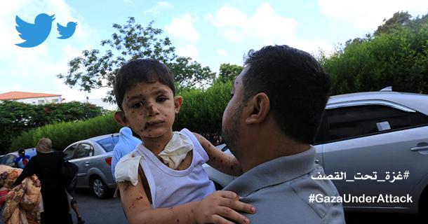 GazaUnderAttackTweets