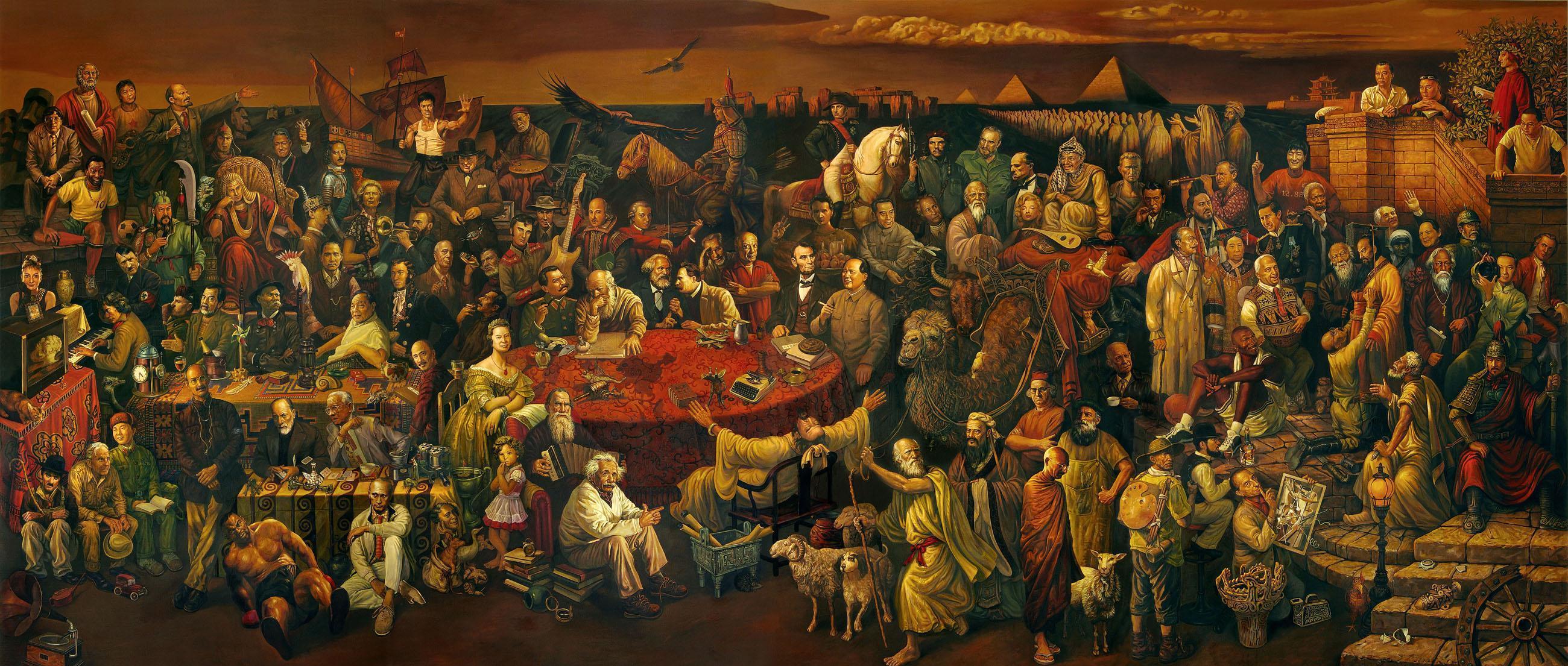 مشاهير من العالم عبر التاريخ