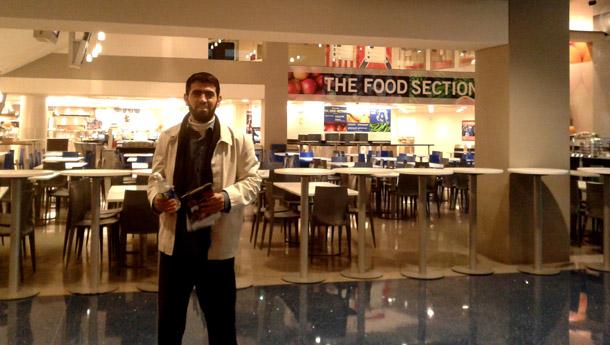 Khaled in Washington D.C