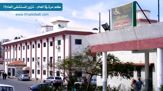 Photo of كم مرة في العام تزور المستشفى العام؟