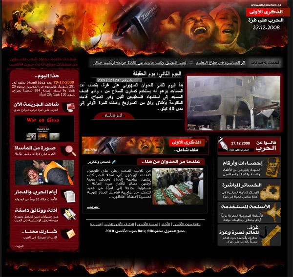 Photo of عام على الحرب على غزة
