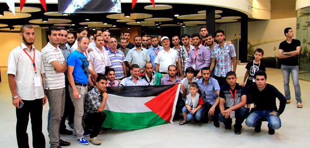 وفد الشباب الفلسطيني في تركيا