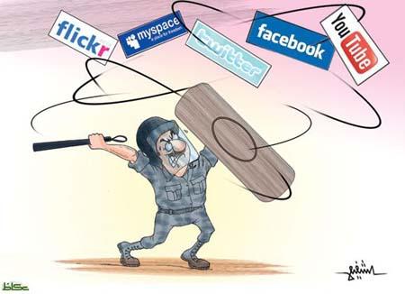المسئول العربي ومواقع التواصل الاجتماعي