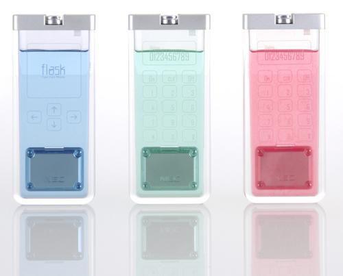 A Transparent Lighter Shape Mobile Phone محمول شفاف وفي نفس الوقت مضيء ولامع