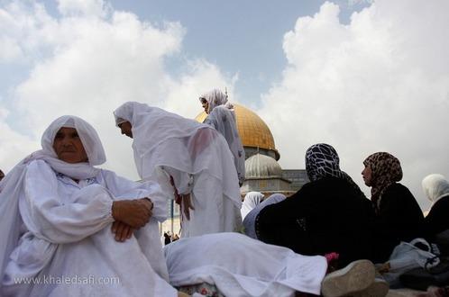 صلاة الجمعة الأخيرة من رمضان بالمسجد الأقصى