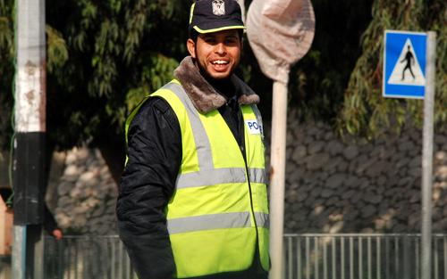 Photo of أنشط شرطي مرور في غزة