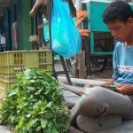 بائع الأخضر في غزة